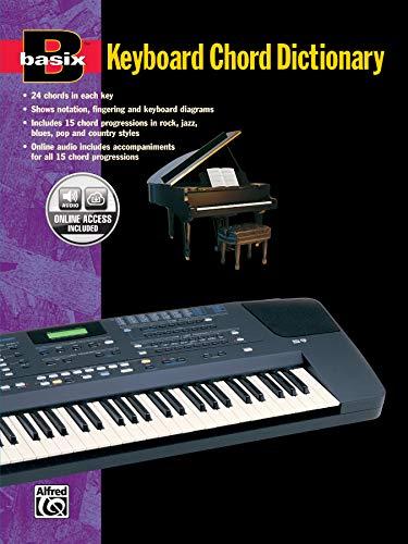 9780882847160: Basix Keyboard Chord Dictionary: Book & CD (Basix(R) Series)