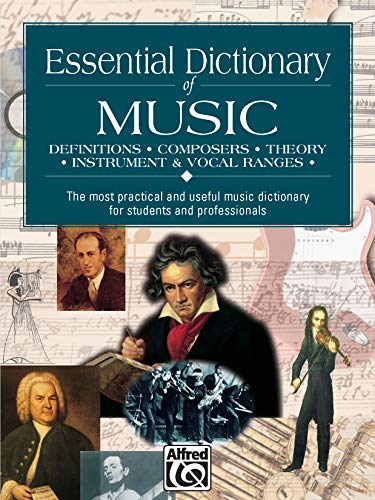 9780882847283: Essential Dictionary of Music: Pocket Size Book: Definitions, Composers, Theory, Instruments (The Essential Dictionary Series)