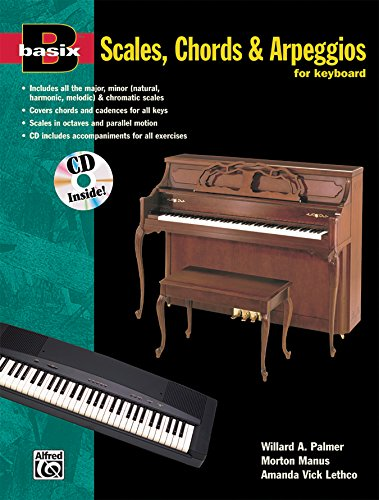 9780882847412: Basix Scales, Chords and Arpeggios for Keyboard: Book & CD (Basix(R) Series)