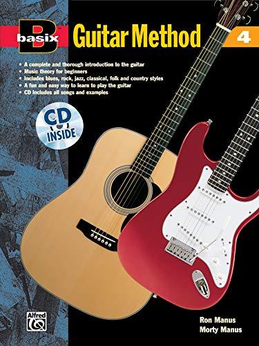 Basix Guitar Method, Bk 4: Book & CD (Basix(R) Series): Morton Manus