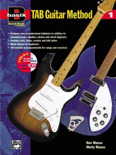 9780882847504: Basix Tab Guitar Method