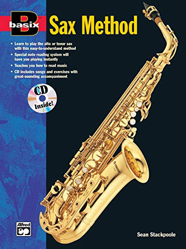 9780882847535: Basix Saxophone Method (Book/CD) +CD (Basix Series)