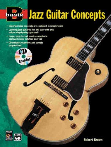9780882847566: Basix Jazz Guitar Concepts