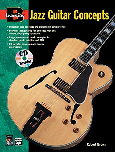 9780882847573: Basix Jazz Guitar Concepts (Book & Cd ed)