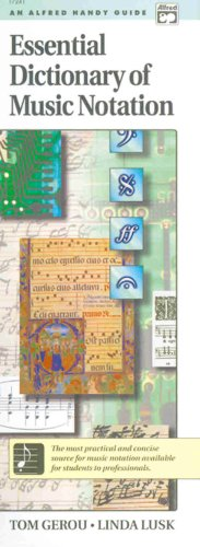9780882847689: Essential Dictionary of Music Notation