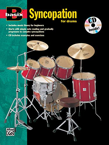 9780882847740: Basix Syncopation for Drums (Book & CD) (Basix[r])