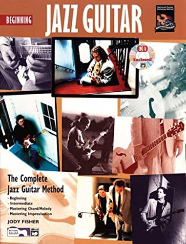 9780882847924: BEGINNING JAZZ GUITAR BOOK/CD