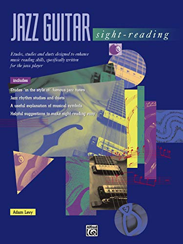 Jazz Guitar Sight-Reading (0882848070) by Levy; Adam