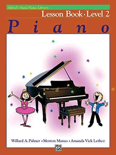 9780882848129: Alfred's Basic Piano Library Lesson Book, Bk 2