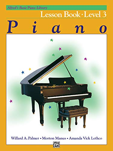 9780882848150: Alfred's Basic Piano Library Lesson Book: Level 3