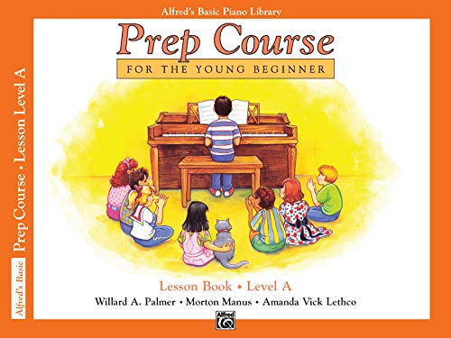9780882848167: Alfred's Basic Piano Library: Prep Course Lesson Level A