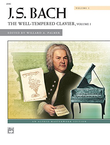 9780882848310: Bach -- The Well-Tempered Clavier, Vol 1: Comb Bound Book (Alfred Masterwork Edition)