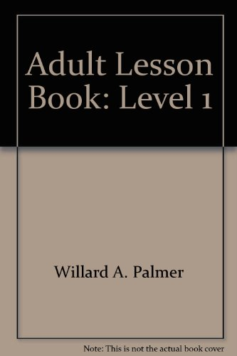 9780882848334: Adult Lesson Book: Level 1