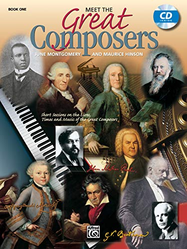 9780882848556: Meet the Great Composers, Bk 1: Short Sessions on the Lives, Times and Music of the Great Composers, Book & CD (Learning Link)