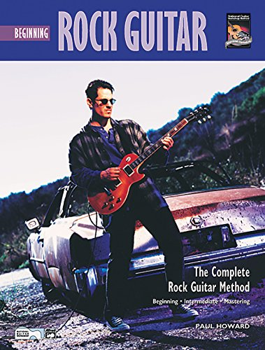9780882848563: Beginning Rock Guitar Book & CD