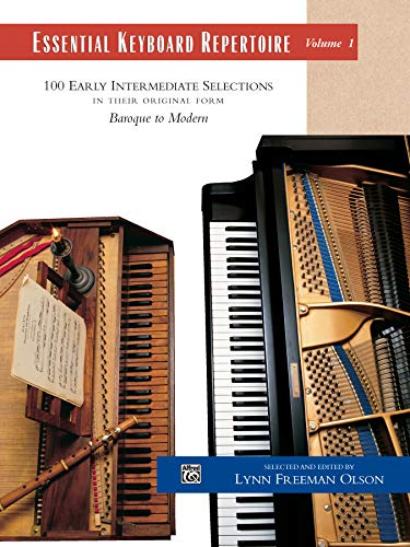 9780882848570: Essential Keyboard Repertoire: 100 Early Intermediate Selections in Their Original Form, Baroque to Modern
