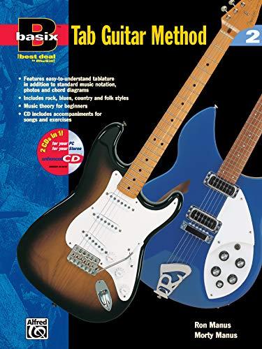 9780882848600: Basix , Tab Guitar Method, Book 2 with CD