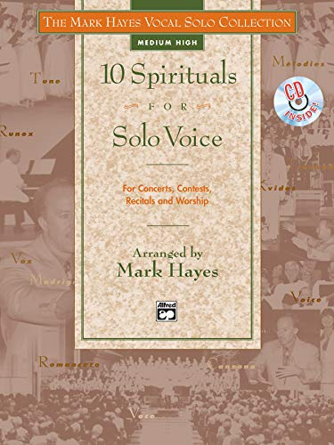 9780882848822: The Mark Hayes Vocal Solo Collection -- 10 Spirituals for Solo Voice: Medium High Voice, Book & CD