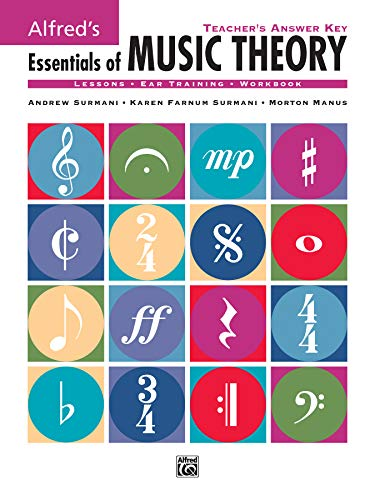 9780882848983: Alfred's Essentials of Music Theory: Teacher's Answer Key