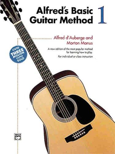 9780882849034: Alfred's Basic Guitar Method, Bk 1 (Book & Enhanced CD) (Alfred's Basic Guitar Library)