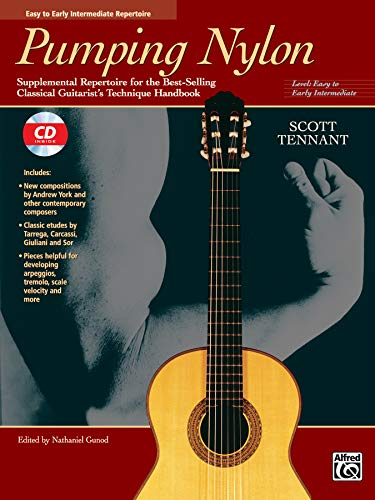 9780882849201: Pumping Nylon -- Easy to Early Intermediate Repertoire: Supplemental Repertoire for the Best-Selling Classical Guitarist's Technique Handbook, Book & CD (Pumping Nylon Series)