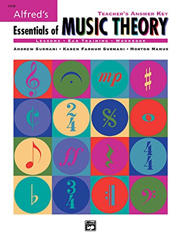 9780882849508: Alfred's Essentials of Music Theory: Teacher's Answer Key, Book & 2 CDs