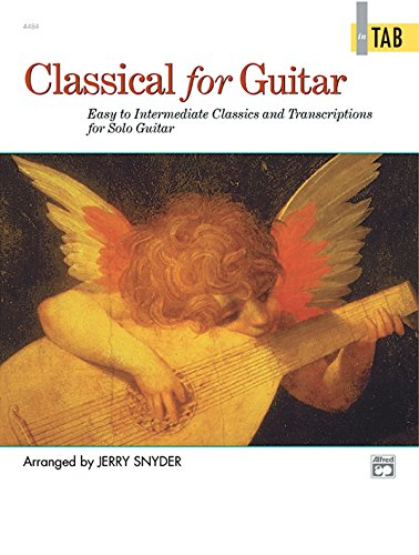 9780882849652: Classical for Guitar In TAB: Easy to Intermediate Classics and Transcriptions for Solo Guitar