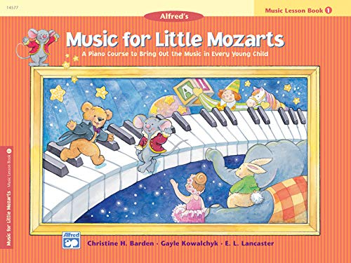 9780882849669: Music for Little Mozarts Music Lesson Book: A Piano Course to Bring Out the Music in Every Young Child
