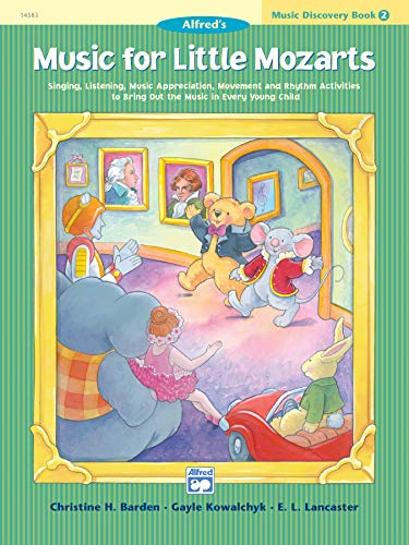 9780882849706: Music for Little Mozarts Music Discovery Book