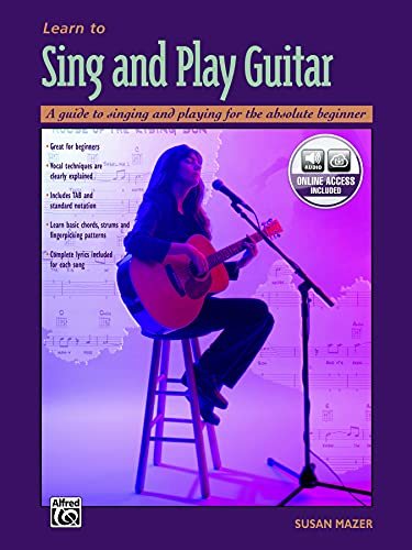 9780882849775: Learn to Sing and Play Guitar: A Guide to Singing and Playing for the Absolute Beginner, Book & CD
