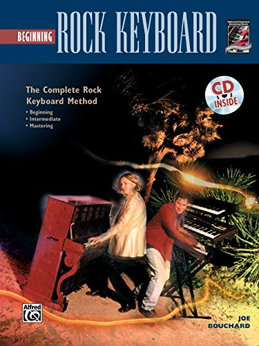 9780882849799: Complete Rock Keyboard Method: Beginning Rock Keyboard, Book & CD
