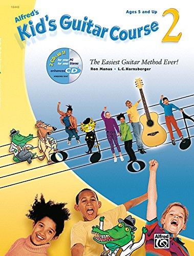 9780882849874: Kid's Guitar Course, Book 2 (Book & Enhanced CD)