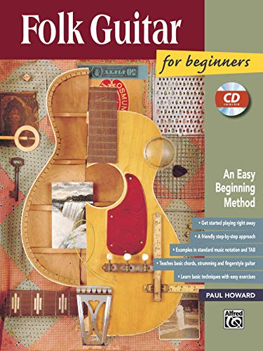 9780882849935: Folk Guitar for Beginners: An Easy Beginning Method (Book & Enhanced CD)