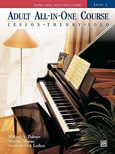9780882849959: Adult All-In-One Piano Course: Level 2: Lessons - Theory - Solo