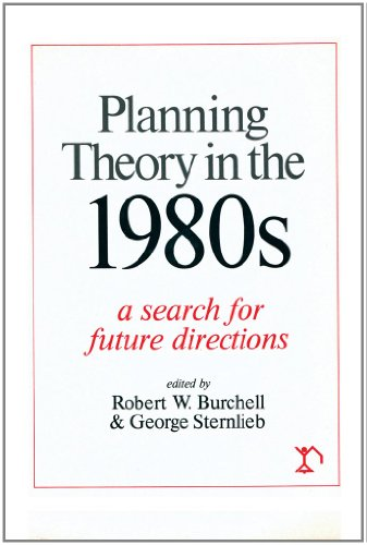9780882850795: Planning Theory in the 1980s: A Search for Future Directions