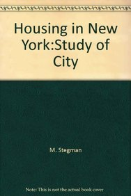 9780882851105: Housing in New York: Study of City