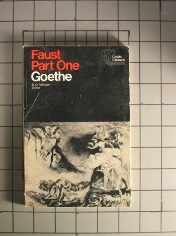 Faust Part One: Goethe, Johann Wolfgang