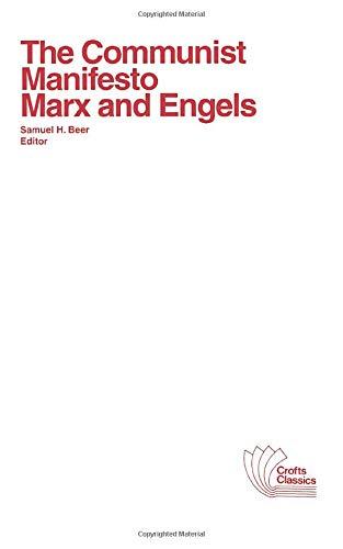 The Communist Manifesto (9780882950556) by Karl Marx; Friedrich Engels