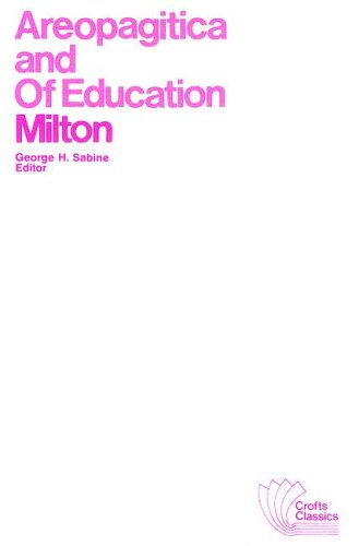 9780882950570: Areopagitica and Of Education: With Autobiographical Passages from Other Prose Works