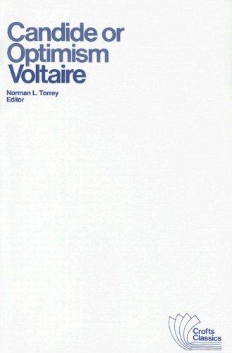9780882951003: Candide or Optimism (Crofts Classics)
