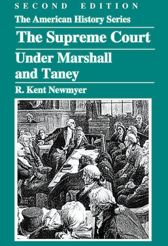 9780882952413: The Supreme Court under Marshall and Taney