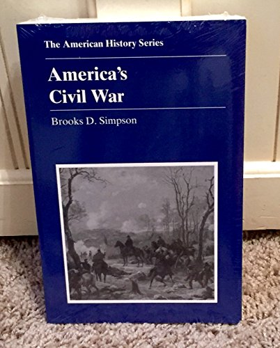 9780882952420: America's Civil War (American History Series)