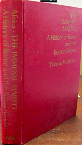 9780882957005: The Immense Majesty: History of Rome and the Roman Empire
