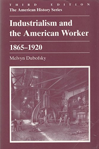 9780882959252: Industrialism and the American Worker, 1865-1920 (American History)