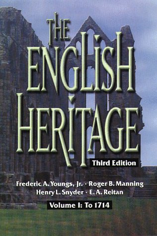 9780882959801: The English Heritage: To 1714