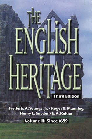 9780882959818: The English Heritage Third Edition Volume II: Since 1689