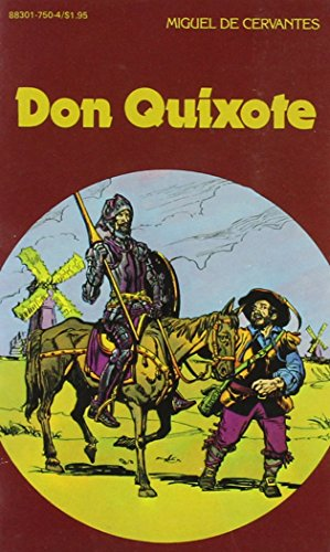 9780883017500: Don Quixote by Miguel De Cervantes, Pocket Classics #51, comic book adaptation (Pocket Classics, # 5