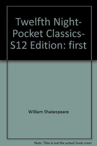 9780883017715: Twelfth Night- Pocket Classics- S12