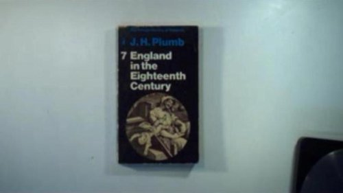 9780883072332: England in the Eighteenth Century