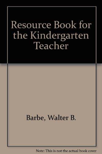 9780883091036: Resource Book for the Kindergarten Teacher